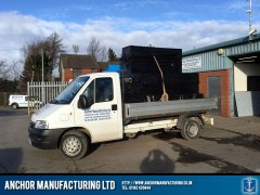 Anchor Manufacturing Delivery Van Loaded 2