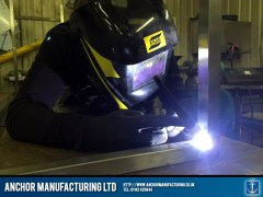 stainless steel seam welding tig