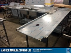 Sheffield Stainless Steel table.