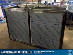 Sheffield stainless steel storage fabrication sheffield front