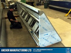 Kitchen Canopy Steel angle