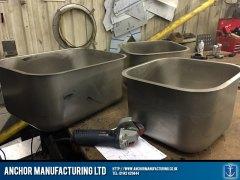 steel sink bowls
