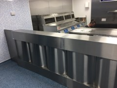 Sheffield Fish & Chip shop counter