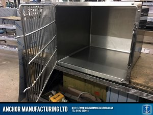 pet kennel stainless steel fabrication