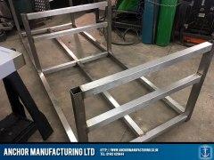 Islamic Mortuary Table Steel Frame