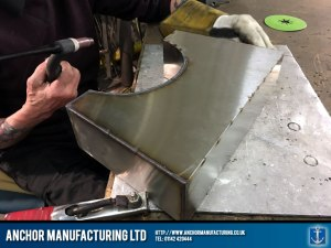 Stainless Steel Neck Brace Welding