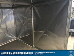 stainless steel shed anti theft Shed inside