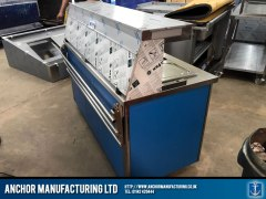 Contemporary hot cupboard buffet equipment side