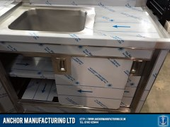 Domestic Stainless Steel Sink cupboard