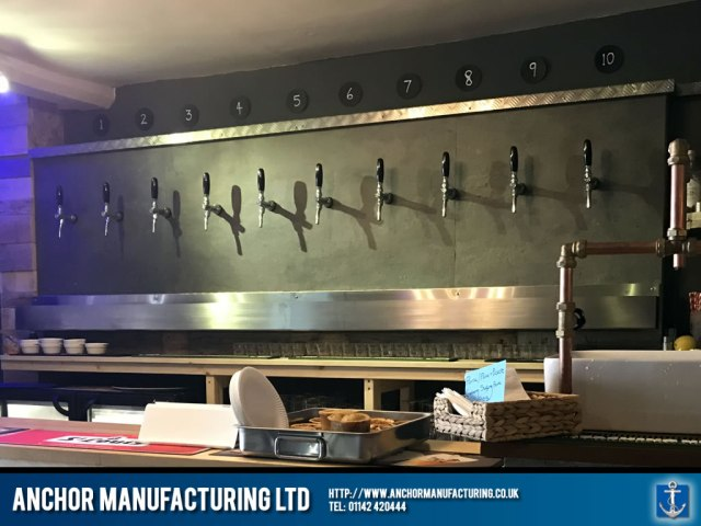 Stainless Steel Bar Beer drain trough