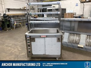 Stainless Steel Custom Hot Cupboard