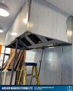 Captain wills pub kitchen refit canopy