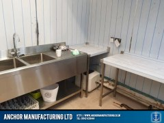 pub kitchen refit filey cladding 2