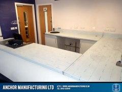 Football Association Stainless Steel Work Counter