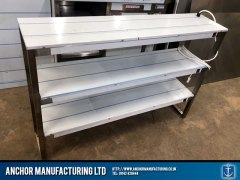 Sheffield Stainless steel Triple Heated Gantry