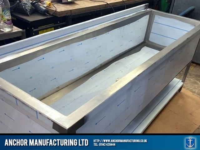 Stainless Steel Trough Sink