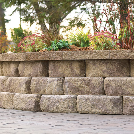 Anchor Diamond 9D Retaining Wall System from Anchor Wall