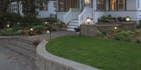 Building A Small Retaining Wall: Front Yard Curb Appeal
