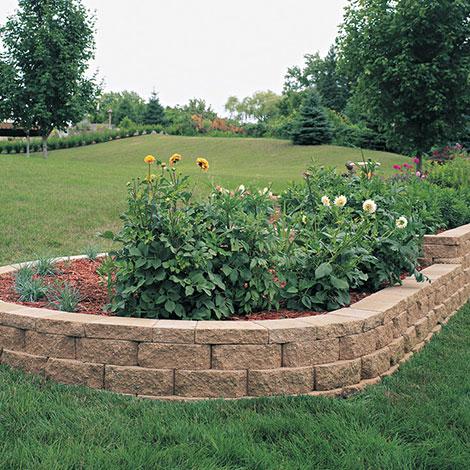 Windsor Block Stone Retaining Wall  Garden Stone Wall Blocks