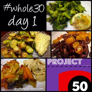 Whole 30 Day 1 Wrap Up