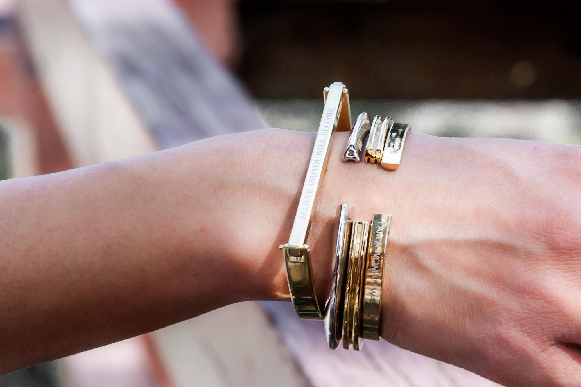 Anchyi Adorned in Stella Valle bracelets