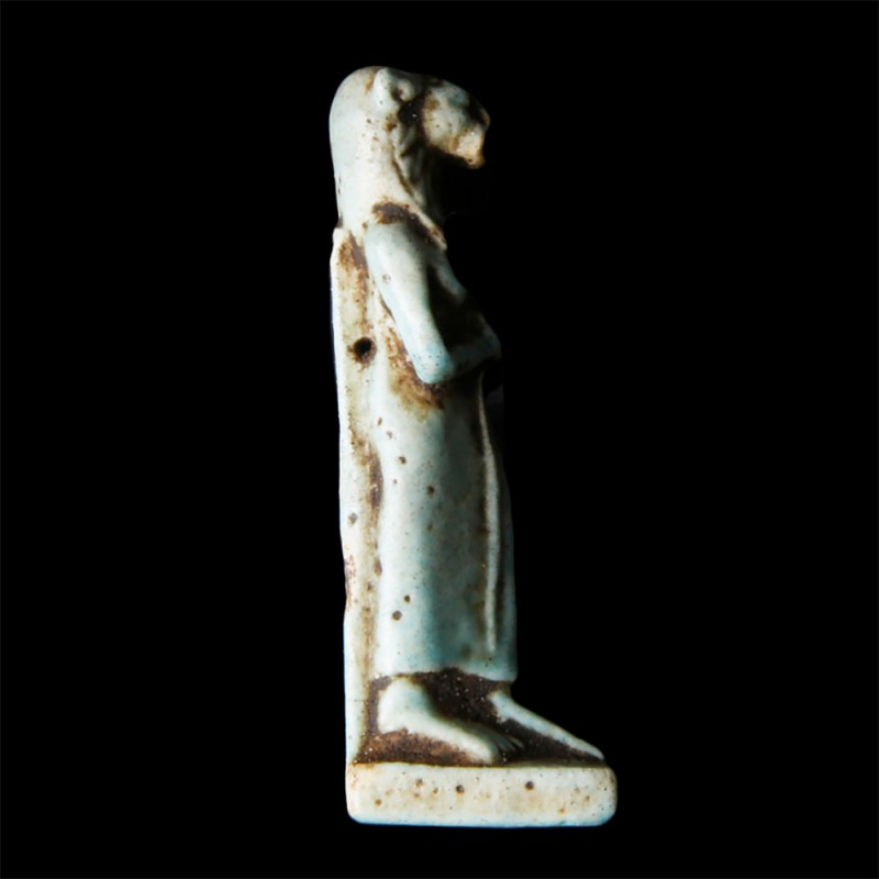 Egyptian Faience Amulet of Sekhmet