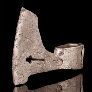 Medieval Axe-Head with Maker's Mark