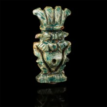 Small Egyptian Amulet of Bes