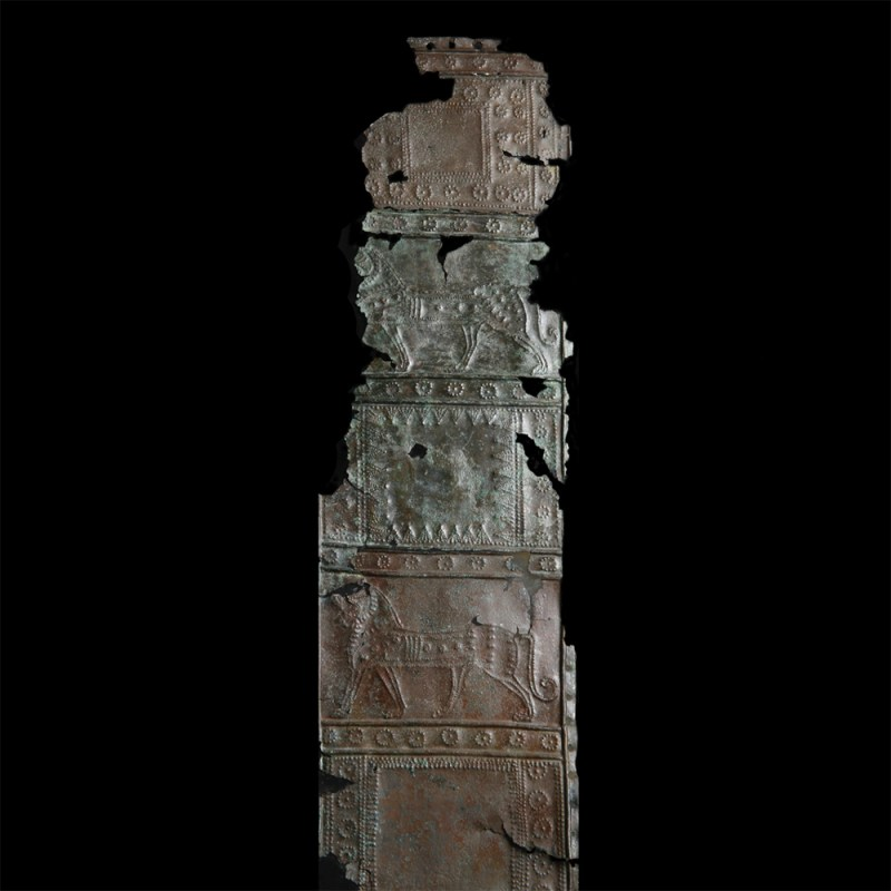 Ancient Near Eastern Bronze Quiver Fitting