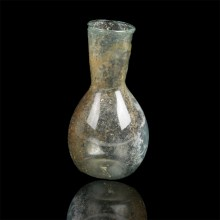 Ancient Roman Transparent Bottle