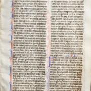 Bible Manuscript Leaf