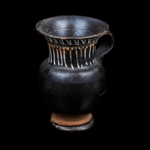 Blackware Terracotta Gnathia Thistle Mug