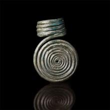 Bronze Age Spiral Ring