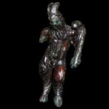 Greek Bronze Satyr Statuette