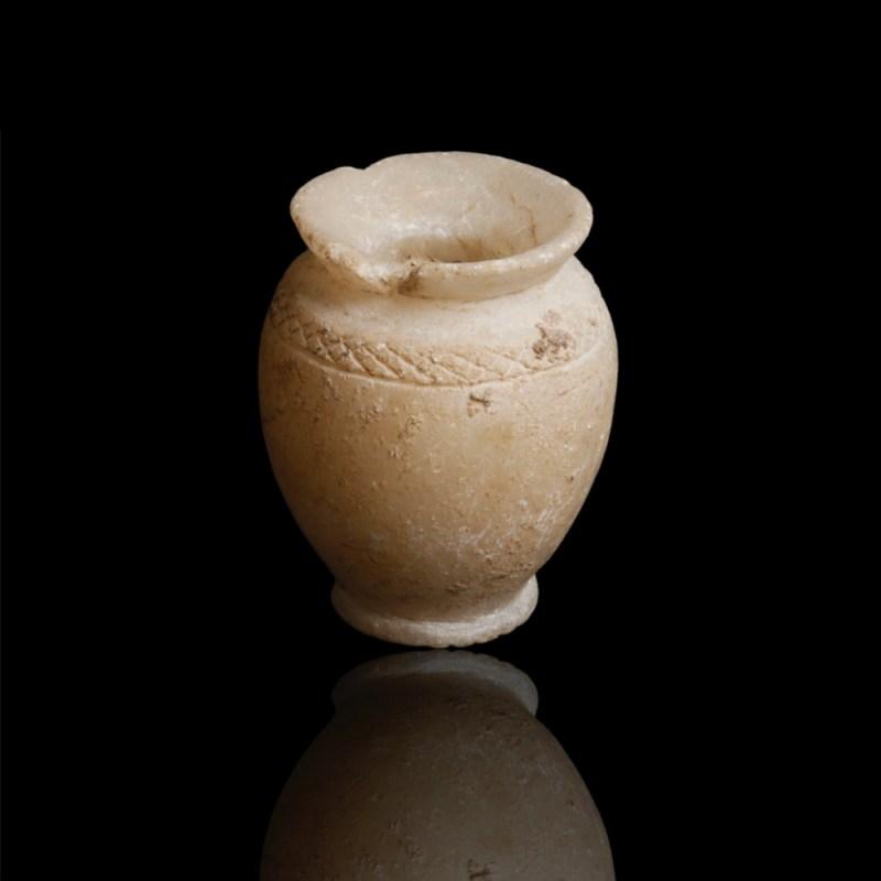 Habuba Kabira Calcite Pot