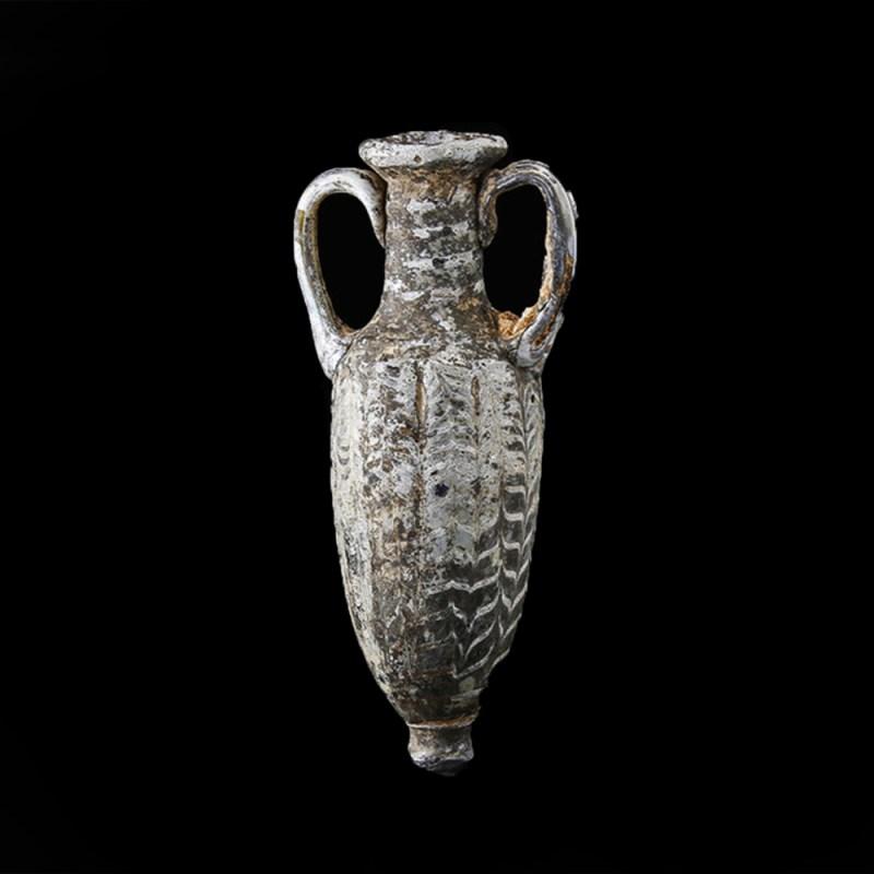 Hellenistic Glass Core-Formed Amphoriskos