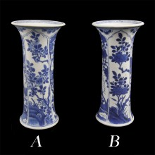 Kangxi Beaker Vases