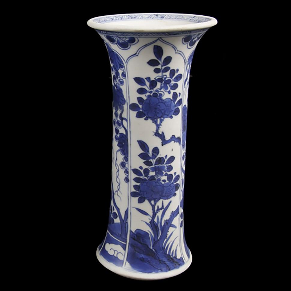 kangxi beaker vases b