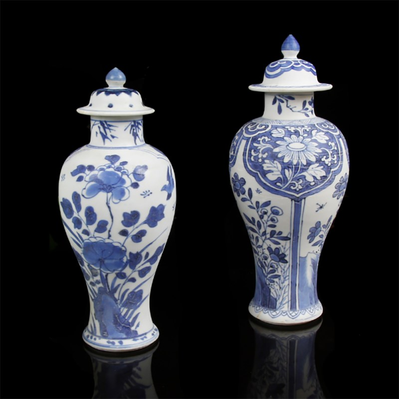 Kangxi Meiping Vases