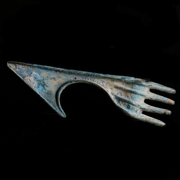 Luristan Bronze Spike Butted Axe Head