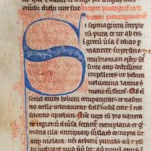 Medieval Manuscript from Britain