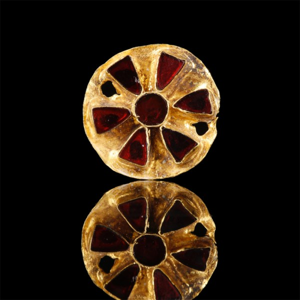Gold and Garnet Scythian Appliques