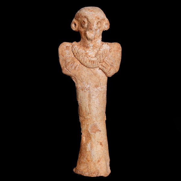 Near Eastern Syro-Hittite Terracotta Idol
