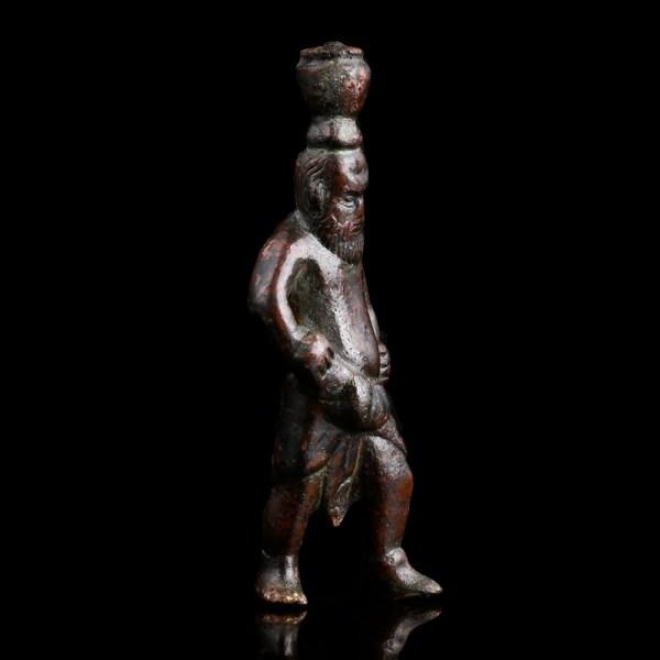 Roman Bronze Statuette of a Silenus