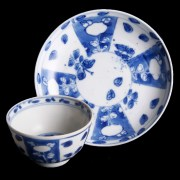 Kangxi Period Cup and Saucer
