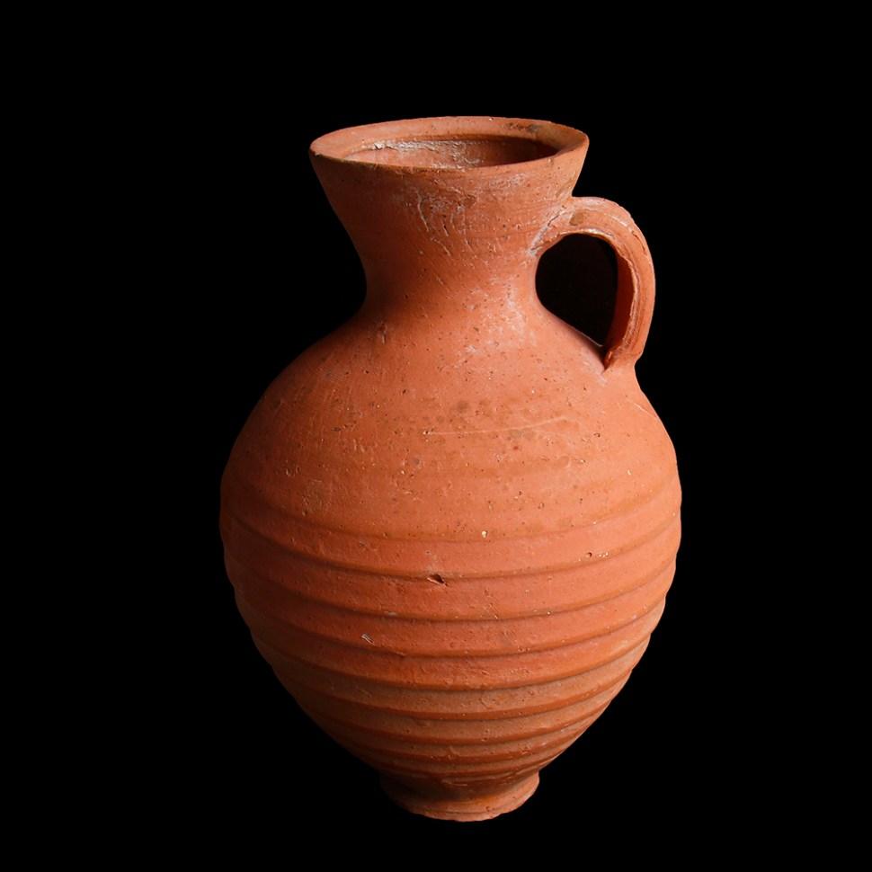 Nabatean Red Terracotta Jar