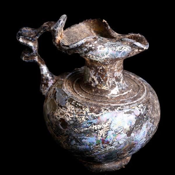 Miniature Roman Jug with Trefoil Mouth