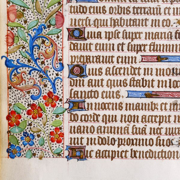 French Manuscript Leaf
