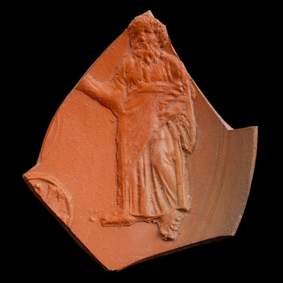 African Red Slipware Fragment with Prophet