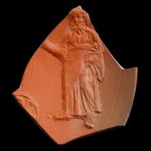 African Red Slipware Fragment with Prophet